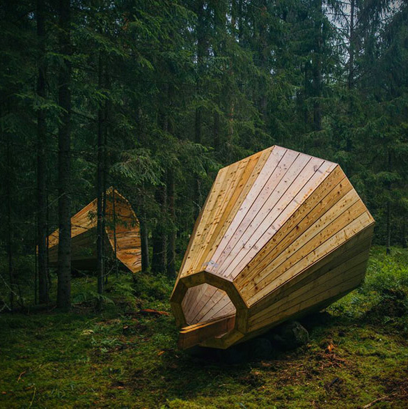 Giant Wooden Megaphone