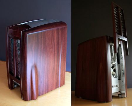 Beautiful Wooden Cygnus X1 Pc Has Motorized Panels Techeblog