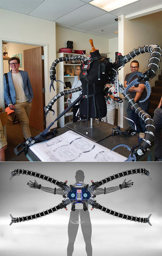 Working Doctor Octopus Suit