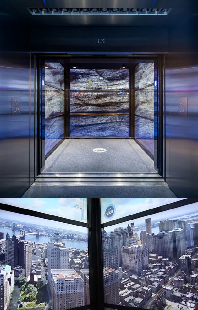World Trade Center Elevator Displays And 10 More Clever