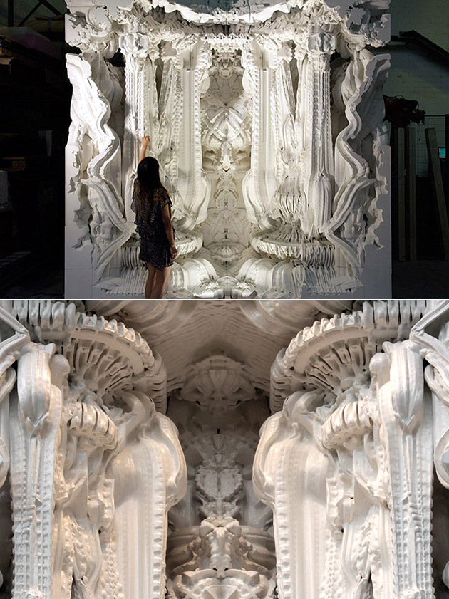 World's First 3D-Printed Room