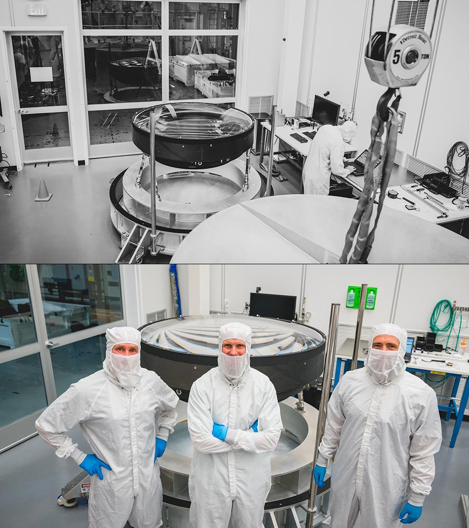 World's Largest Optical Lens