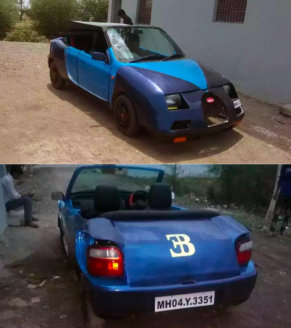 Worst Veyron Replica