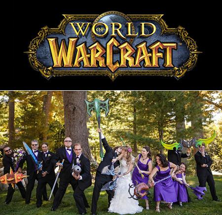 Couple joueur décide de se marier, il s'ensuit de World of Warcraft mariage