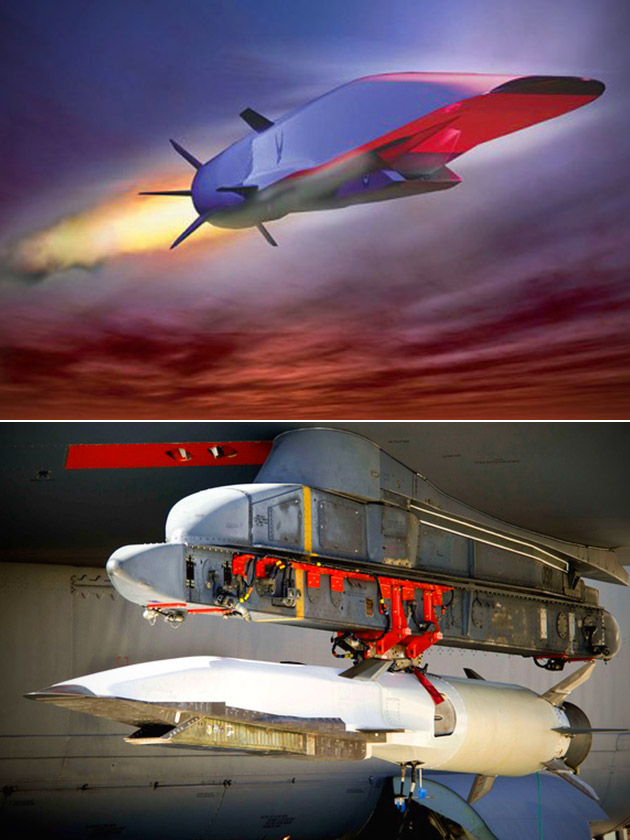 Boeing Hypersonic X-51 WaveRider