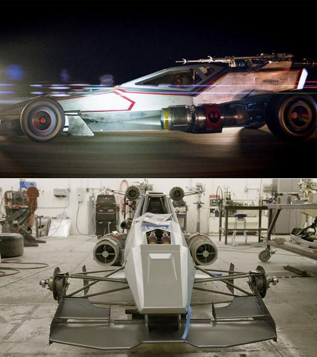 X-Wing Car Carship