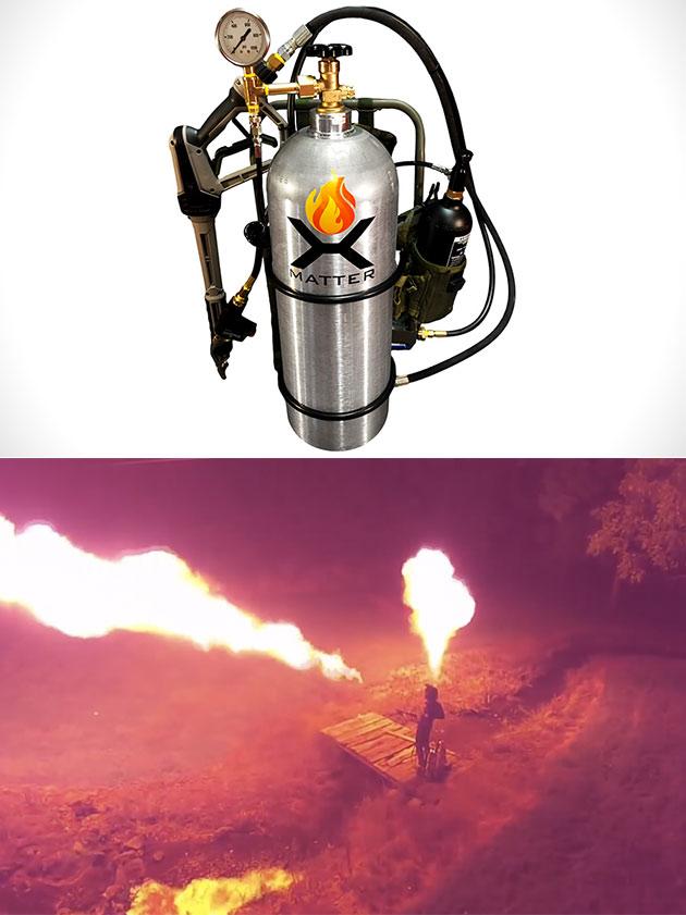 X15 Dual Wield Flamethrower