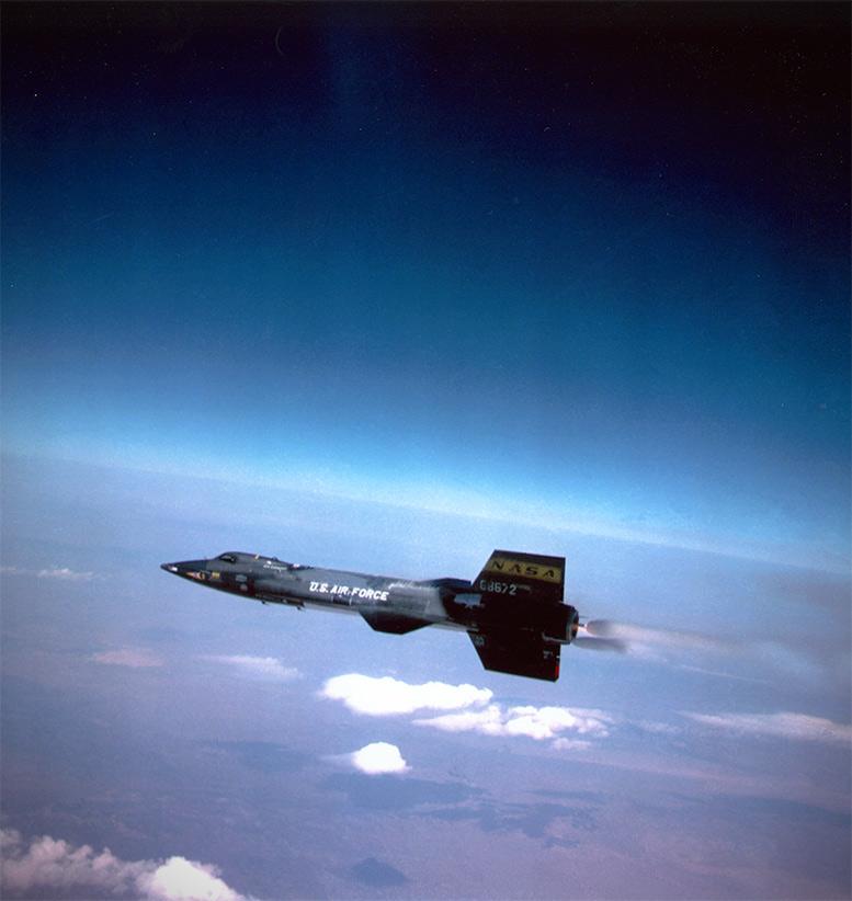 X-15 Rocket Hypersonic Plane