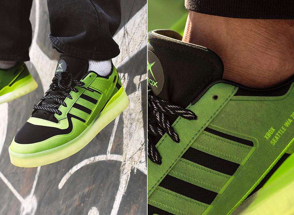 Xbox Adidas Originals Limited Edition Sneaker 20th Anniversary