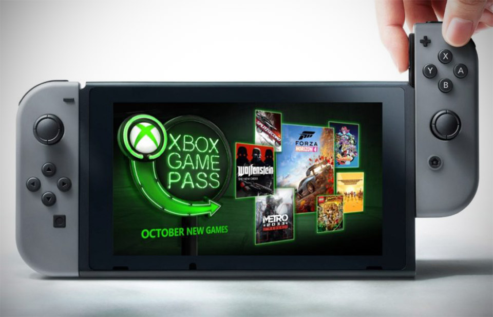Xbox Game Pass Nintendo Switch