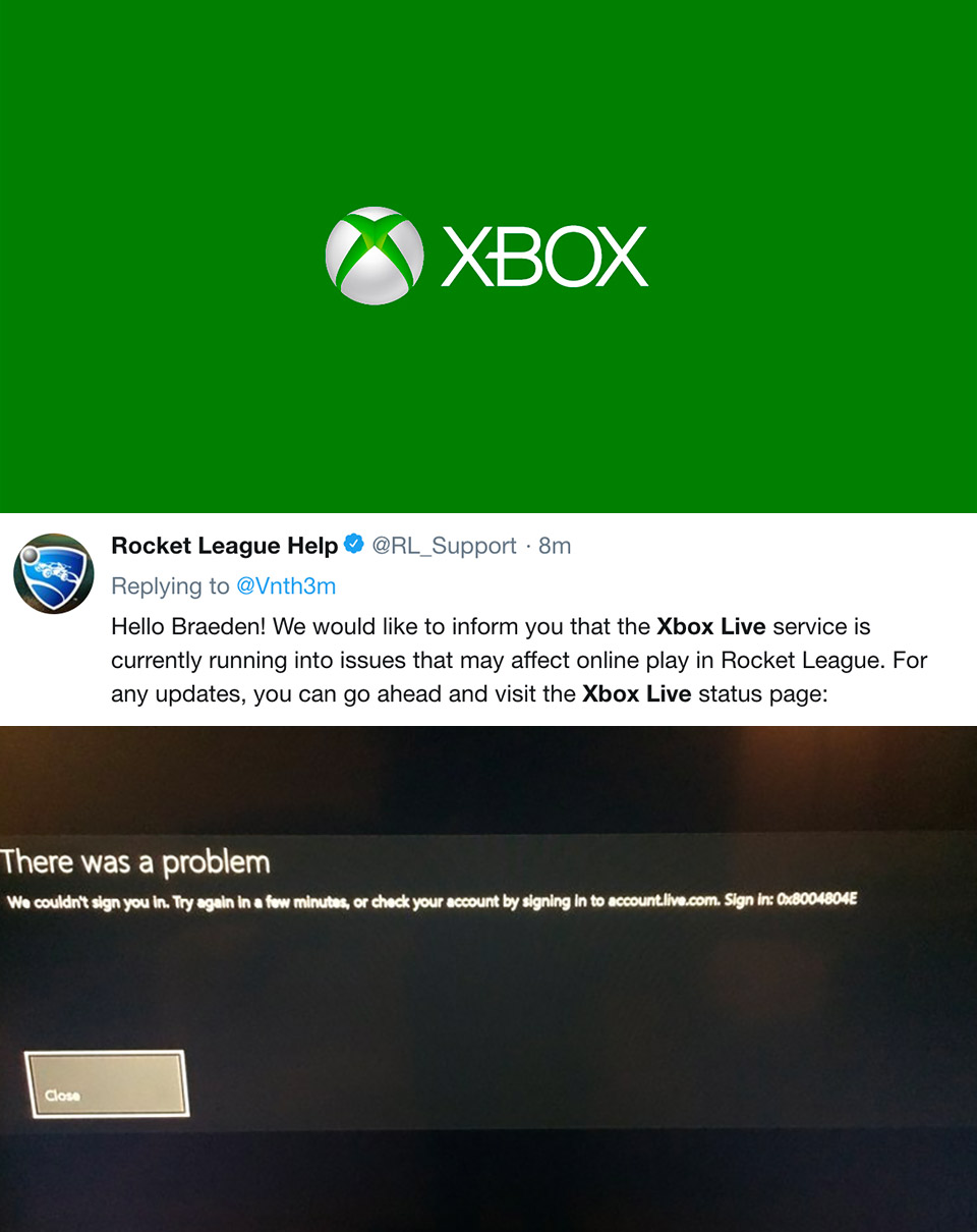 Xbox Live Down Microsoft Corporation