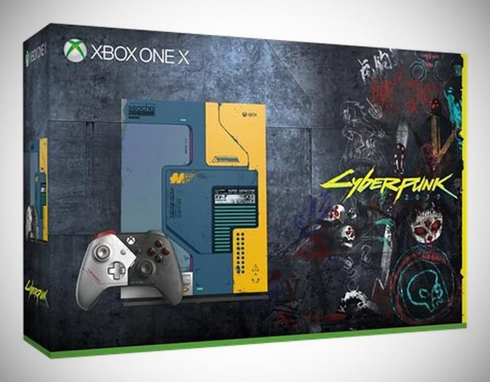 Xbox One X Cyberpunk 2077 Bundle Console