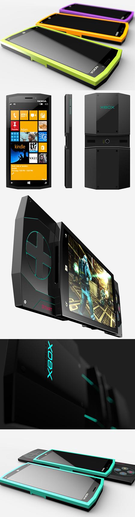 Si Nokia en partenariat avec Microsoft pour un téléphone de la Xbox, c'est ce qu'il ' d Look Like