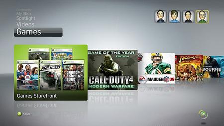 Xbox Dashboard Update