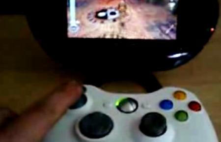 Hacker Uses Xbox 360 Controller on Modded PSP - TechEBlog