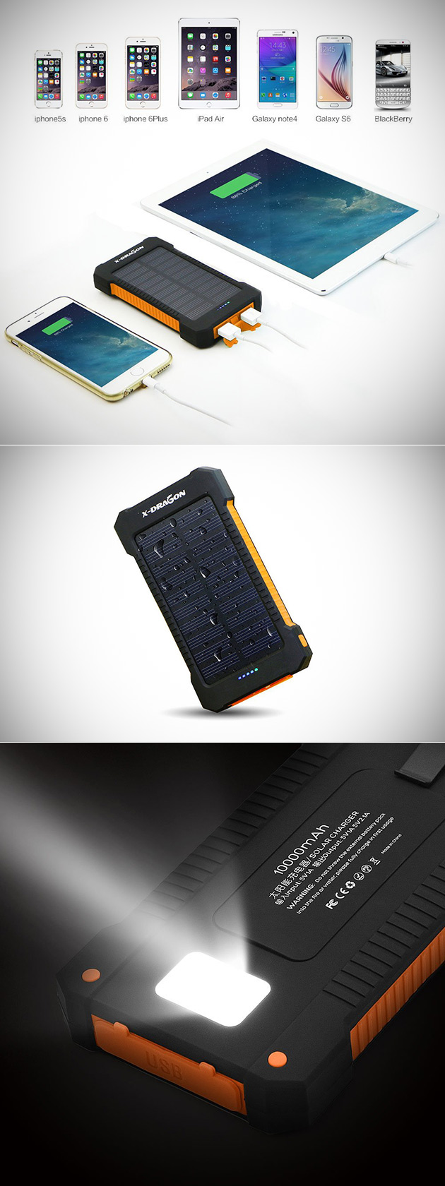 X-Dragon Solar Power Bank