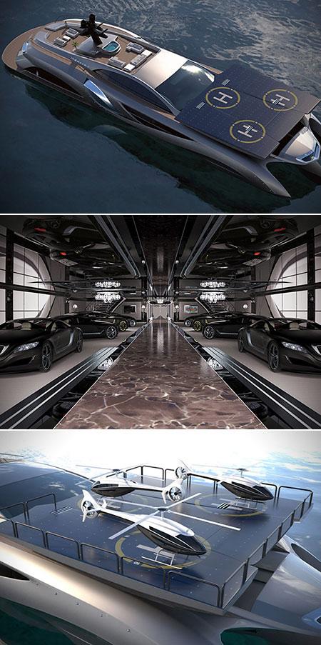 Superyacht Helipad