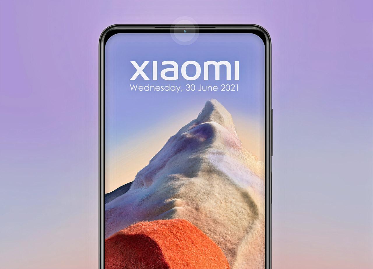 Xiaomi Invisible Selfie Camera Bezel Under Display