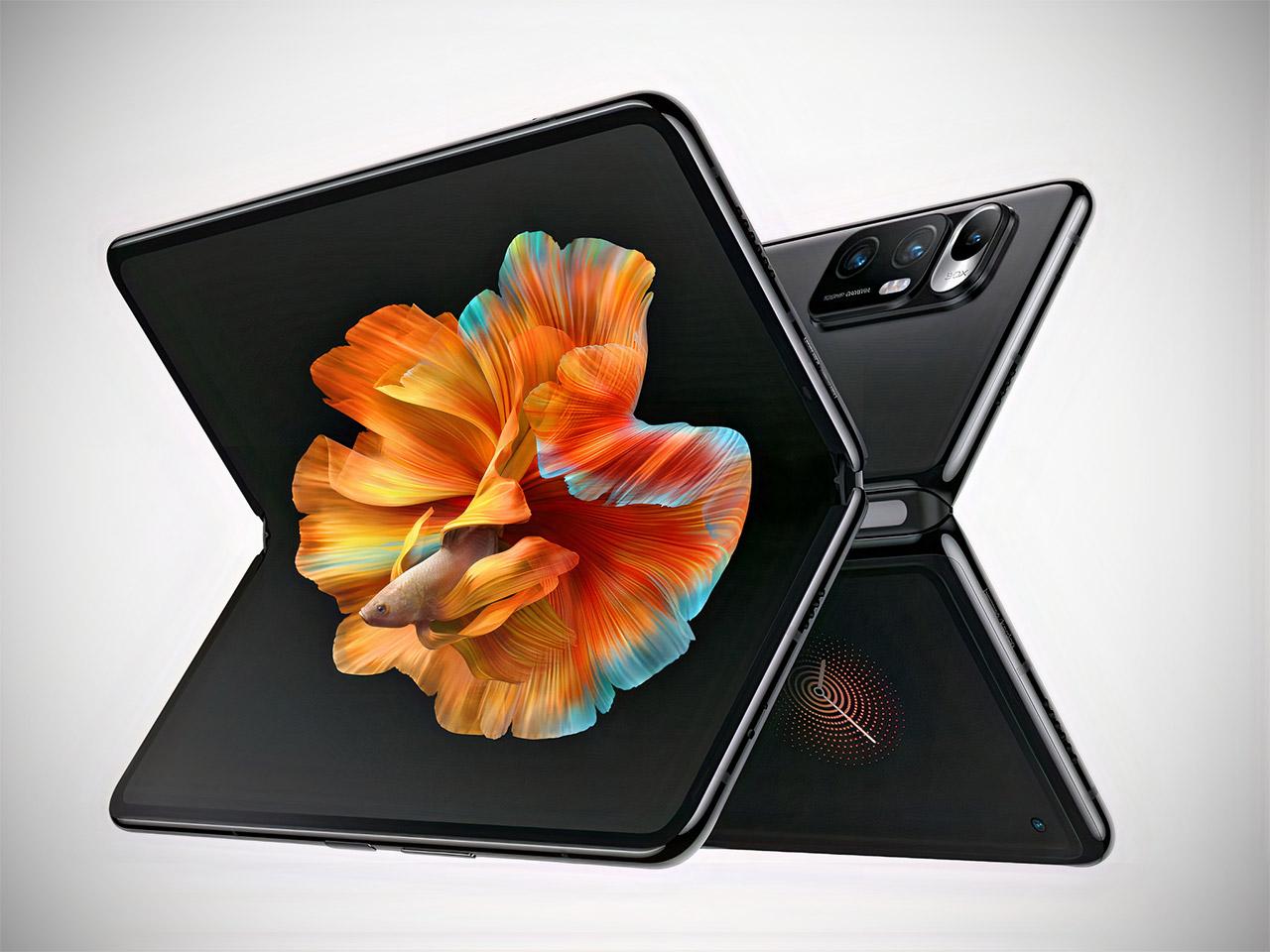 Xiaomi Mi Mix Fold Foldable Smartphone Liquid Lens