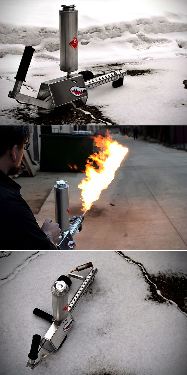 XM42 Handheld Flamethrower