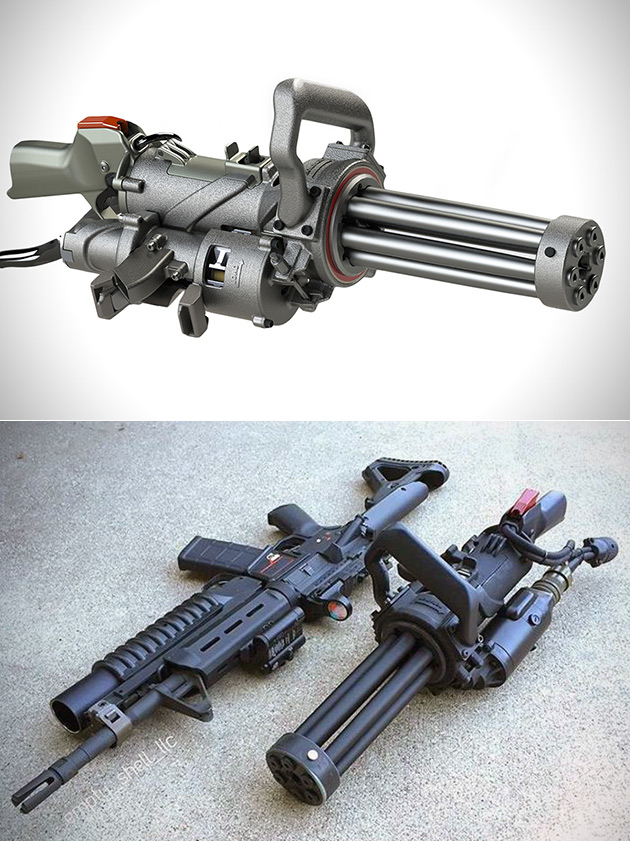 Electric Gatling Gun