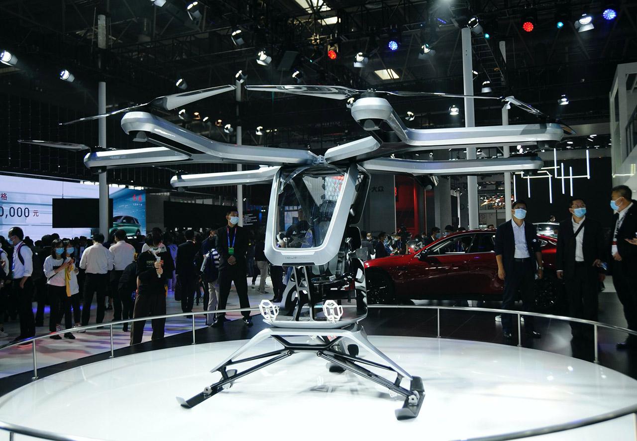 Xpeng Kiwigogo T-ONE Manned Drone