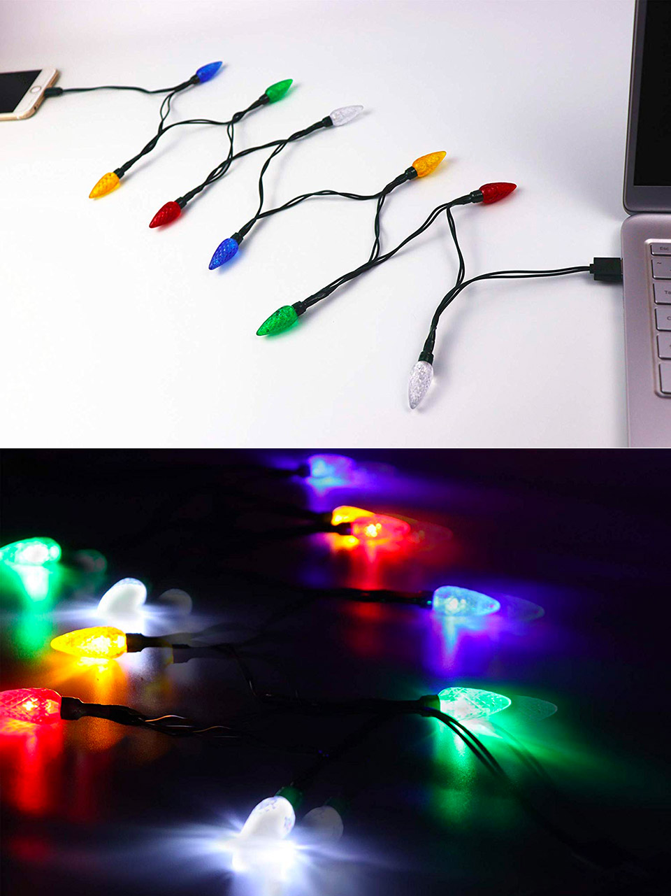 Yage Tale LED Christmas Light Phone charger