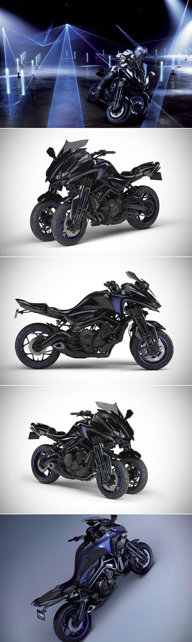 Yamaha MWT-9 Leaning Trike