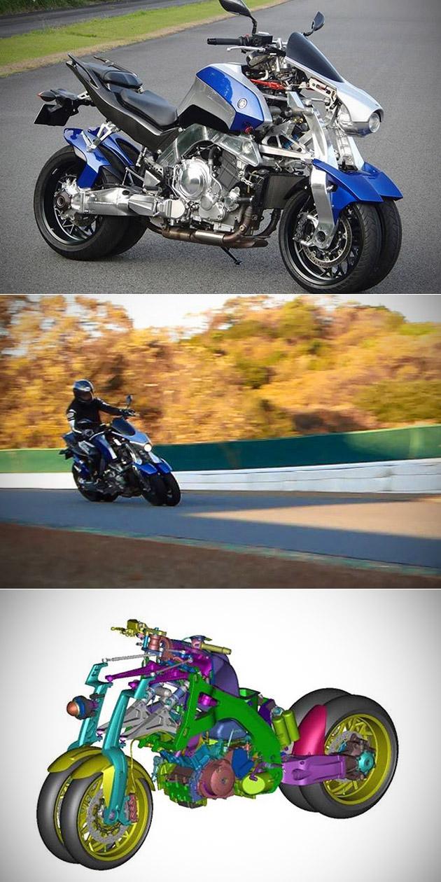 Yamaha OR2T Four-Wheeled Motorcycle