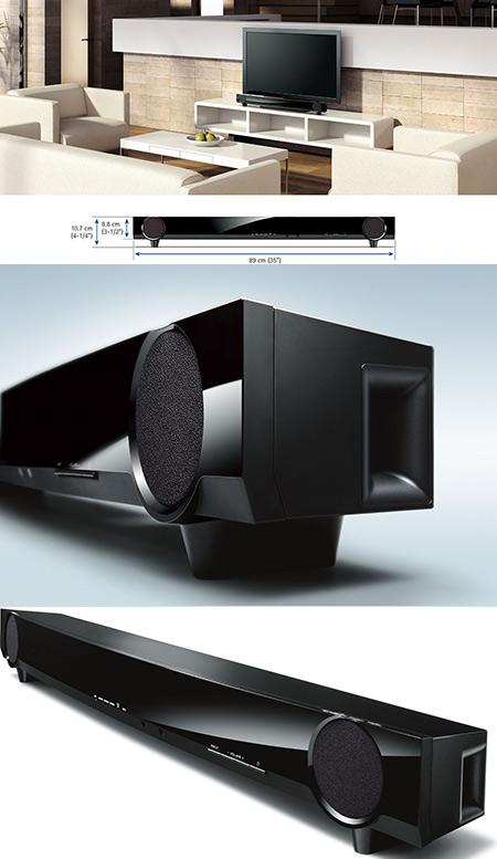 Yamaha ats 1010 7 1 surround soundbar system refurbished for Yamaha ats 1030 soundbar review