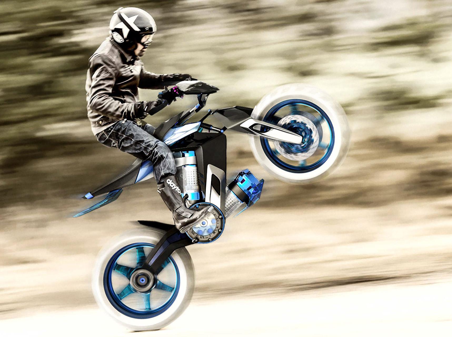 Yamaha XT 500 H2O Motorcycle