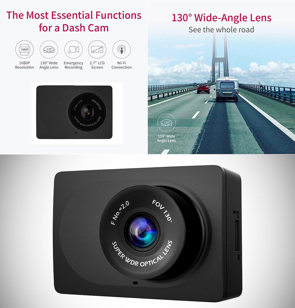 YI Compact Dashcam 1080p