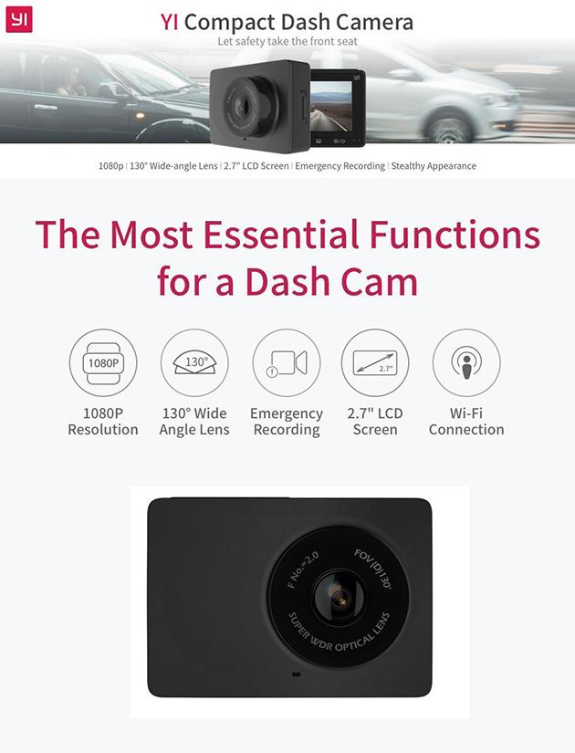 YI 1080p Dash Cam
