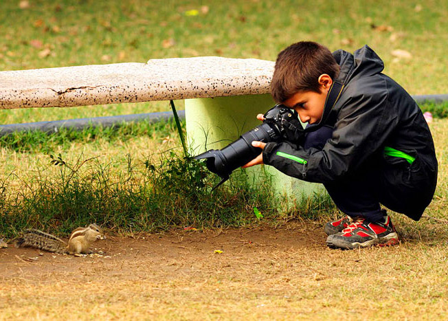 9-Year-Old Photographer