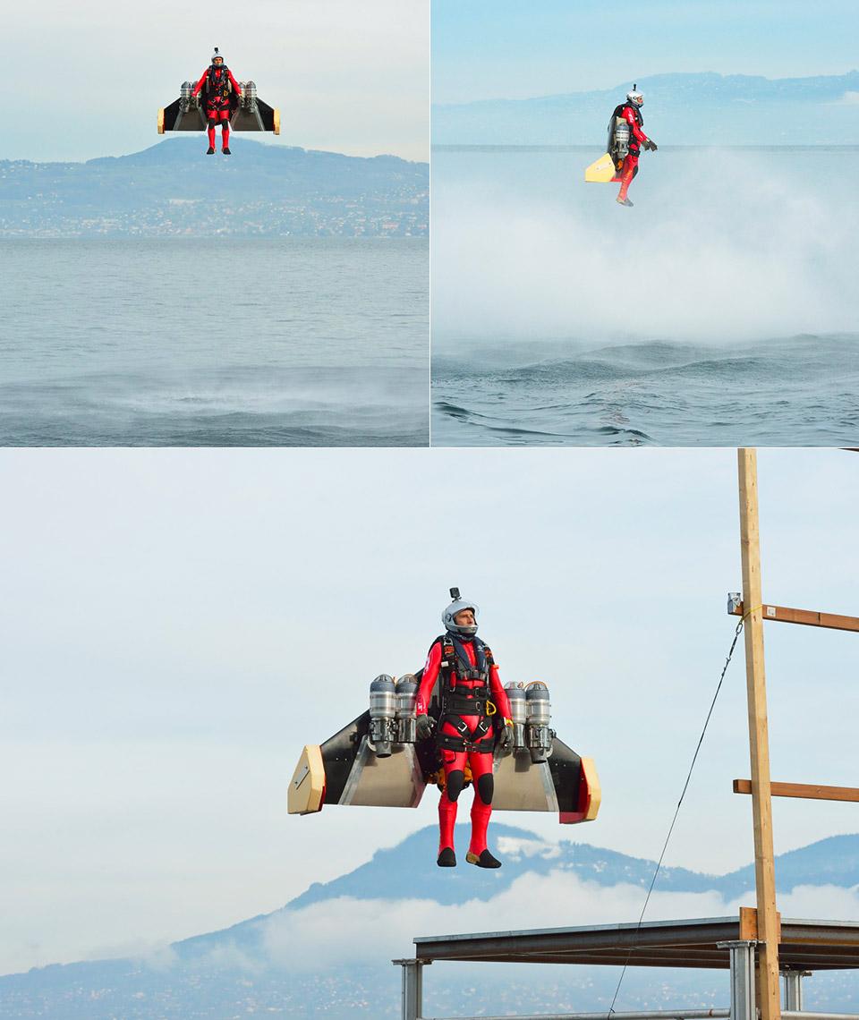 Yves Rossy Wingsuit Autonomous