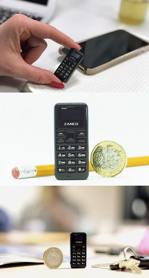 Zanco T1 Smallest Cell Phone
