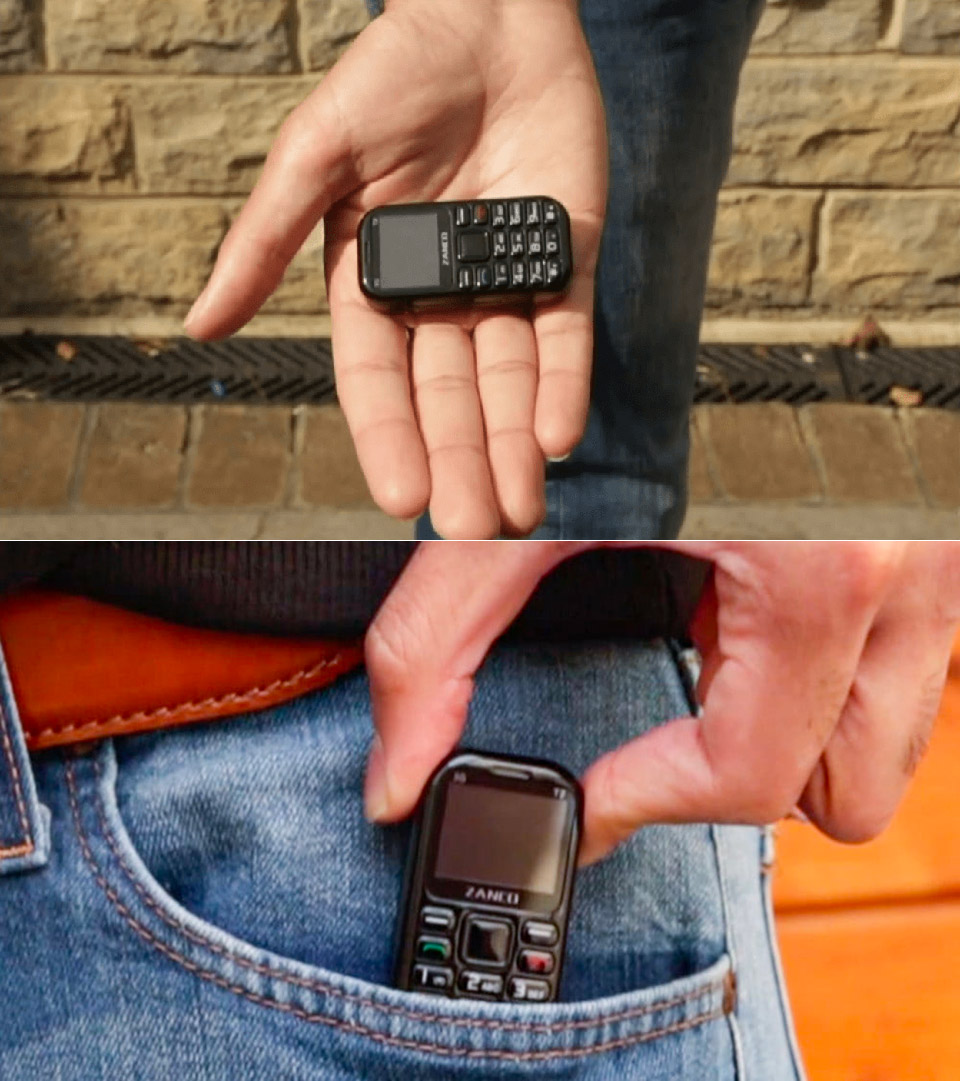 Zanco Tiny T2 Smallest 3G Phone