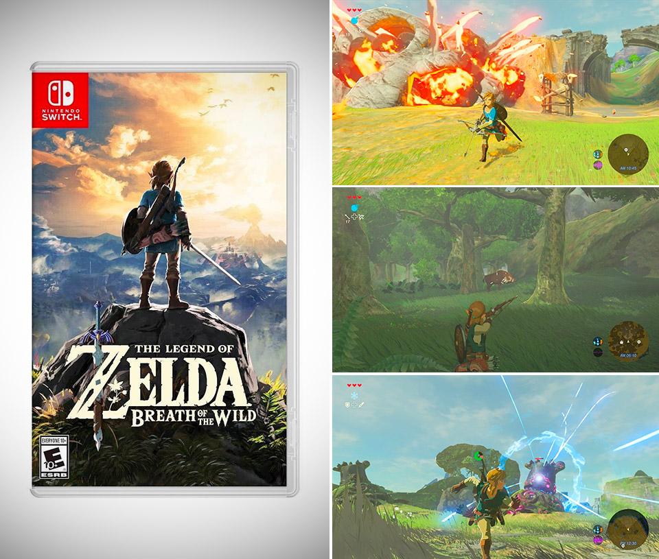 Zelda Breath of the Wild Digital
