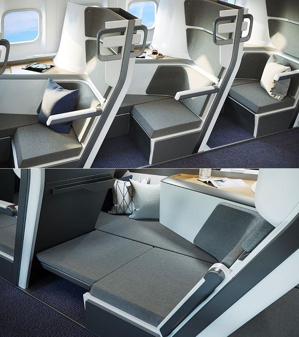 Zephyr Lie-Flat Economy Class Seat