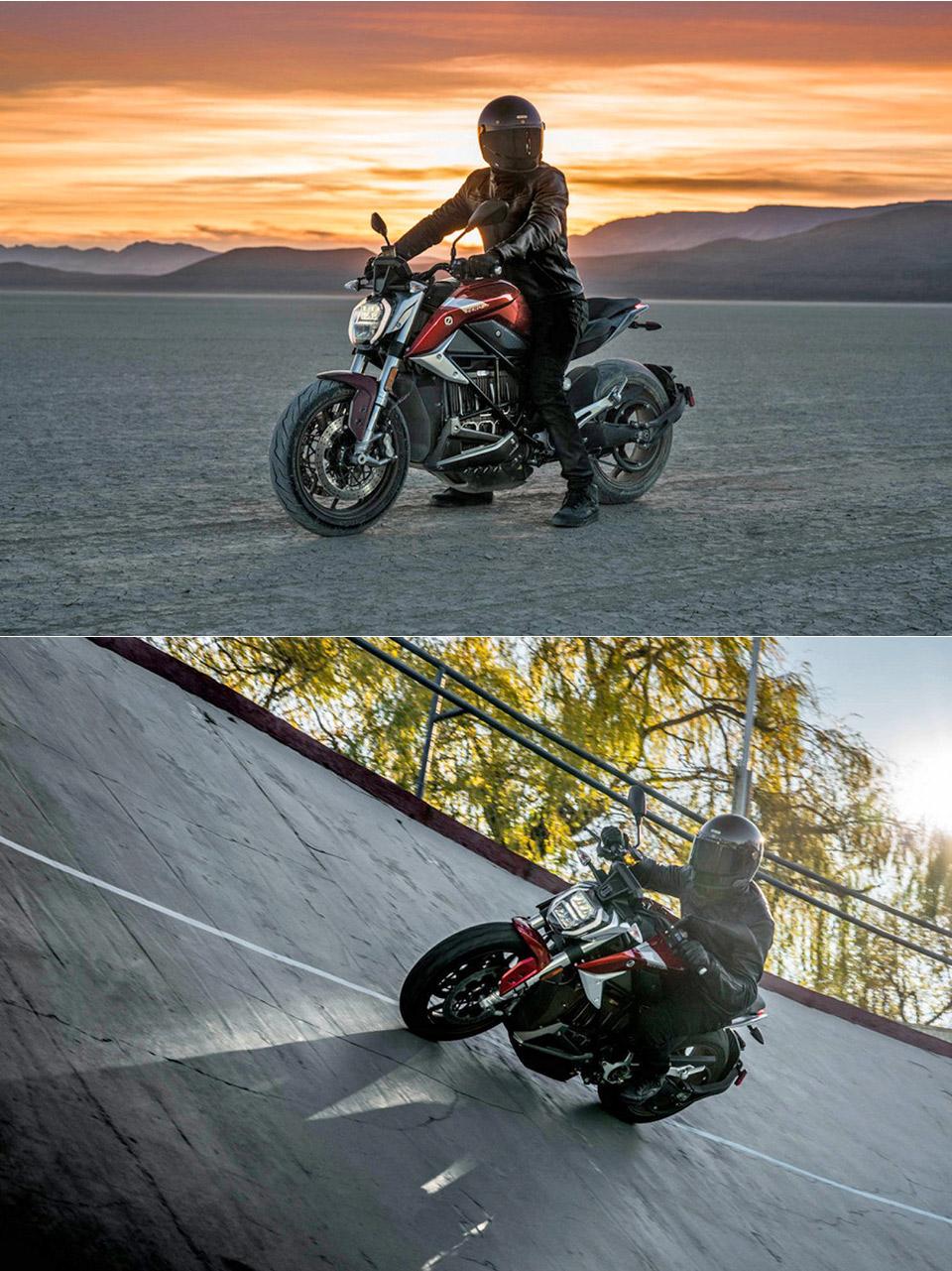 Zero Motorcycles SR/F Electric