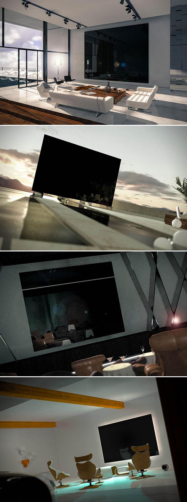 Zeus 370-inch 4K TV