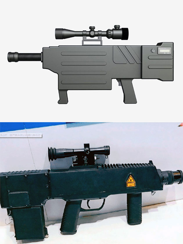 ZKZM-500 Laser Assault Rifle from China is Capable of Firing