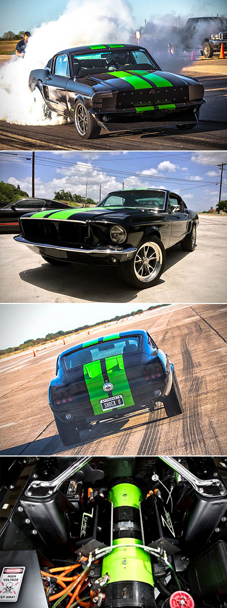 Zombie 222 Electric 1968 Ford Mustang