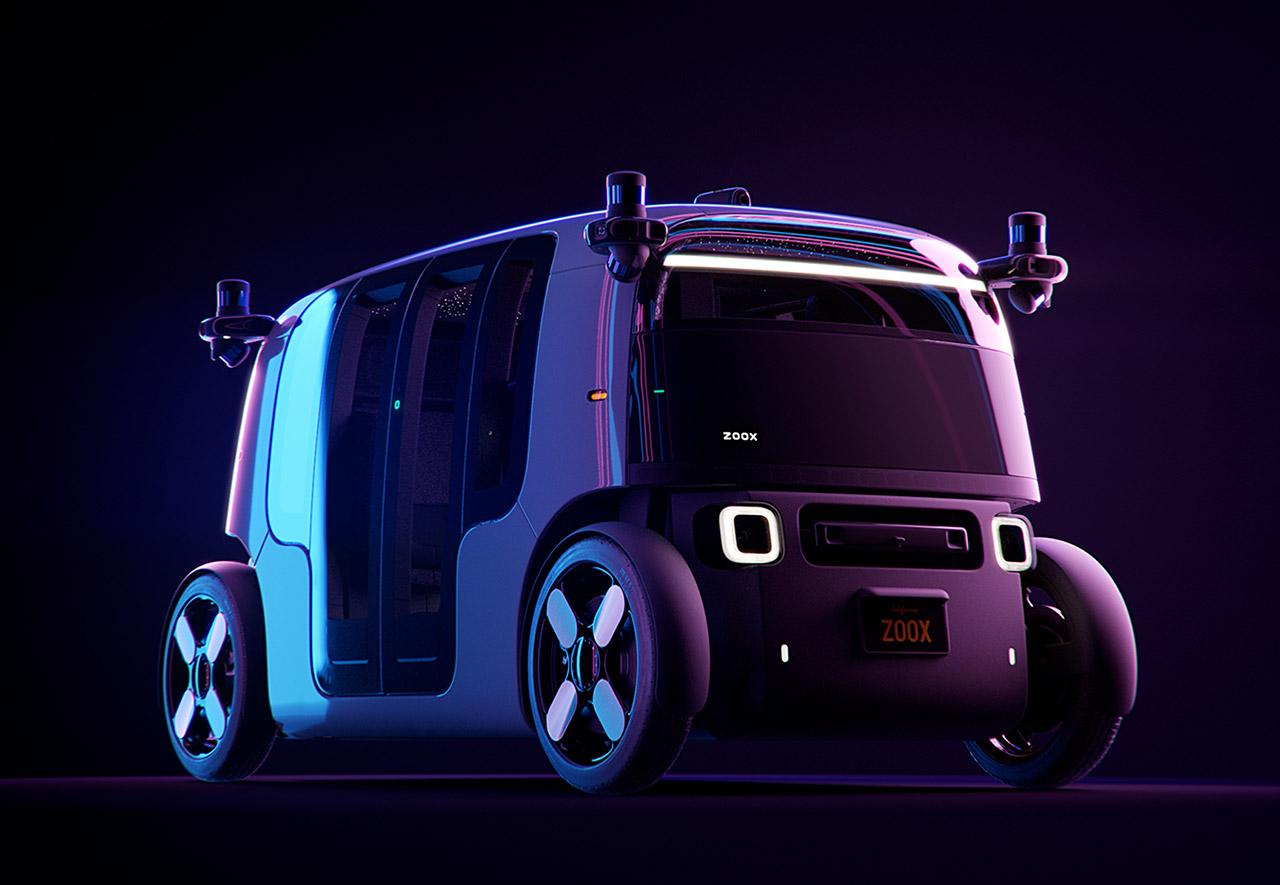 Zoox Autonomous Electric Vehicle