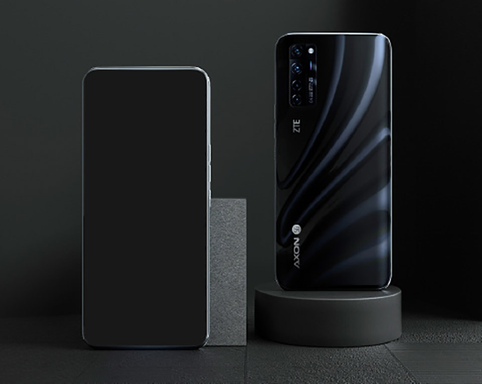 ZTE Axon 20 5G Smartphone Under Display Camera