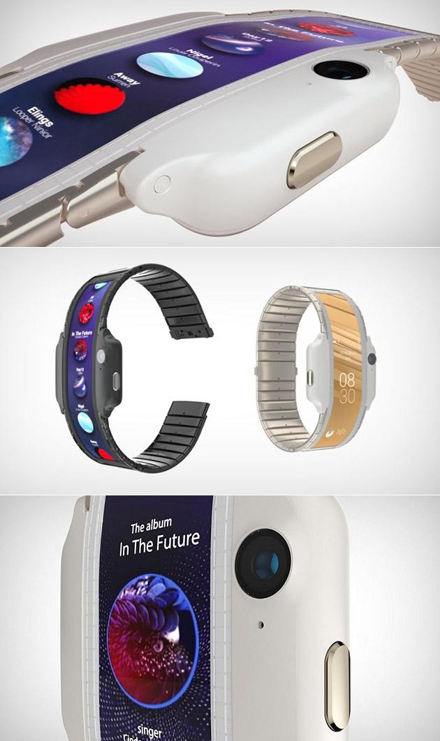 ZTE Nubia Alpha Wearable Smartphone