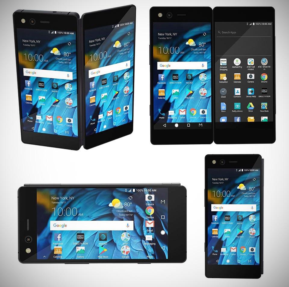 ZTE Axon M Z999 Dual-Screen Smartphone